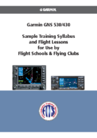 Garmin Flight Syllabus