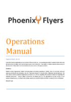 Operations Manual (September 2018)